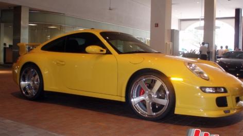 Porsche 997 Turbo on HRE 792R