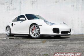 Porsche 996 Turbo on HRE P40