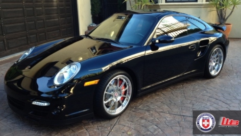 Porsche 997 Turbo on HRE 593RS