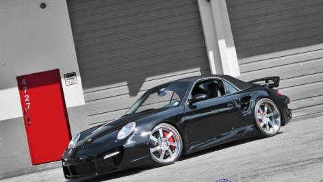 Porsche 997 Turbo on HRE 794R