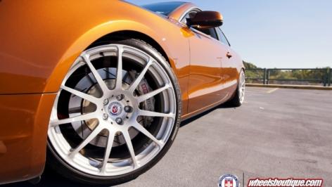 HRE 20″ P43 on Ipanema Brown Audi A5