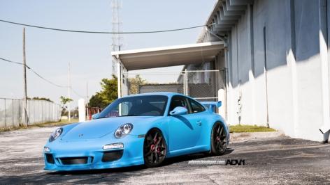 Porsche 997 GT3 on ADV5.01 MV1