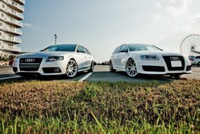 2 Audi Avants on ADV1's, yes one is an RS6