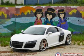 Audi R8 x HRE P47SC