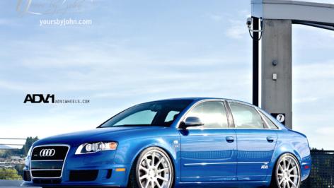 Audi S4 on ADV10 Track Spec