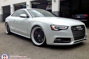 Audi S5 on HRE C93