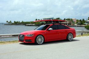 Audi S6 on Rotiform BLQ's