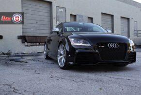 Audi TTRS on HRE P101