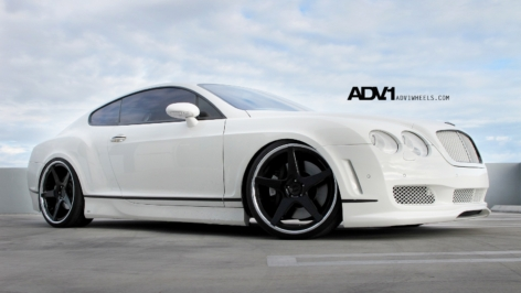 Bentley Continental GT on ADV5 Track Spec