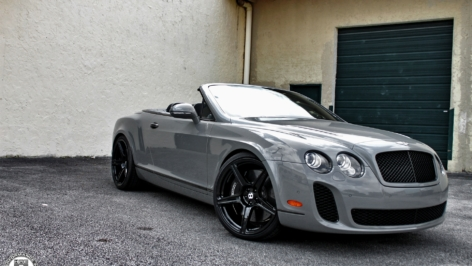 Bentley Continental SuperSports on HRE TR45's