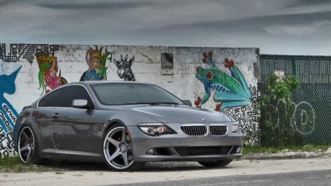 BMW 6-Series on ADV5 DC Gunmetal