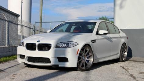 BMW F10 M5 on ADV10 DeepConcave