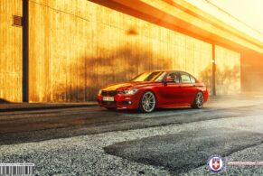 BMW F30 335i on HRE P44SC