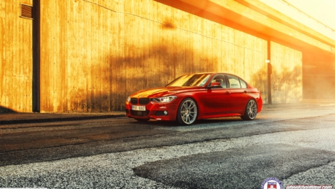 BMW F30 335i on HRE P44SC