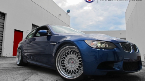 BMW M3 on HRE 501 Vintage Series