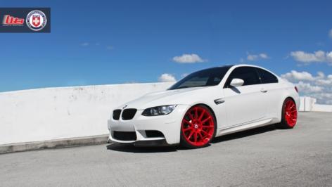 BMW M3 on HRE P43SC