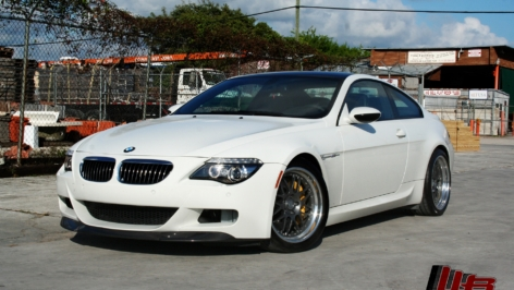 BMW M6 on HRE 19″ Comp90 and Brembo BBK