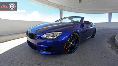 BMW M6 on HRE S101