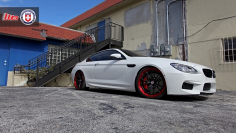 BMW M6 on HRE S104