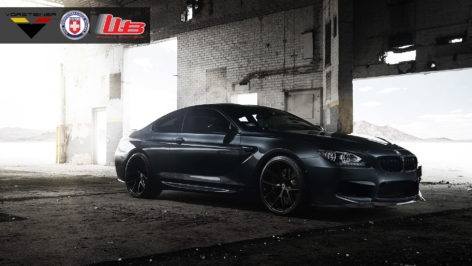 BMW M6 with VRS Carbon Kit and HRE P101's