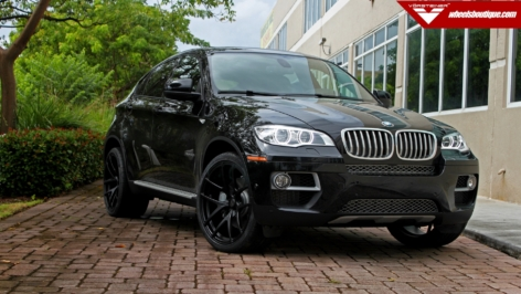 BMW X6 on Vorsteiner VS-110