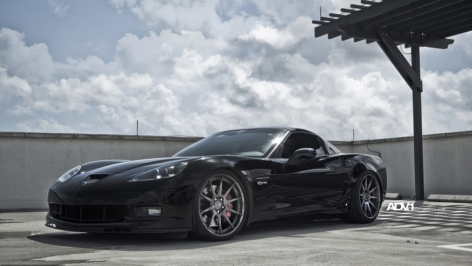 C6 Z06 on ADV10 Deep Concave