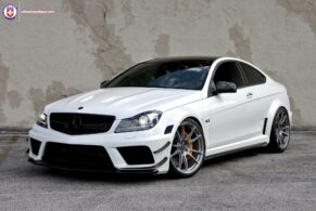 C63 Black Series on HRE P44SC
