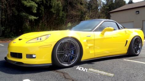 Chevrolet Corvette C6 Z06 on ADV07 Track Spec