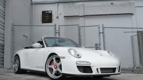 Porsche 997 GTS on HRE 595CL