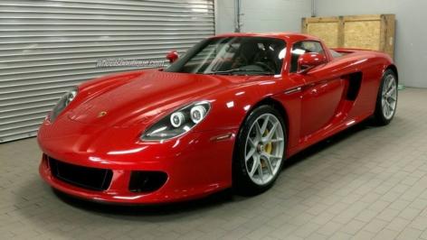 Porsche Carrera GT on HRE P101