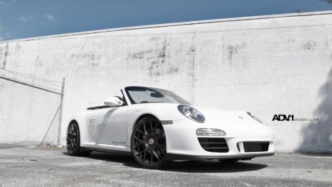 Porsche 997 GTS on ADV7.1 MV1