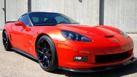 Corvette ZR1 on HRE P40SC