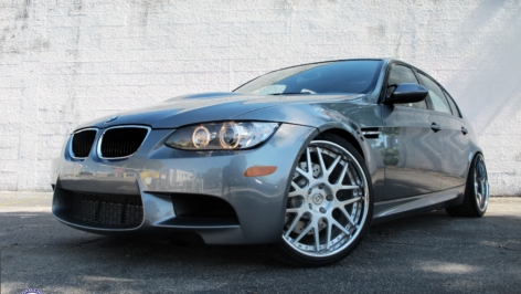 BMW E90 M3 on HRE 790R
