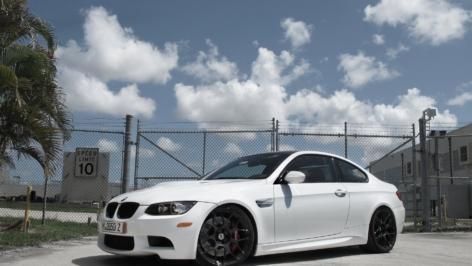 BMW E92 M3 on HRE P40S
