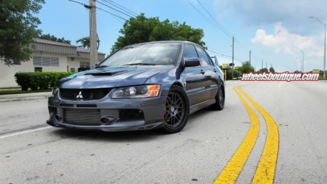 EVO9 on HRE Comps