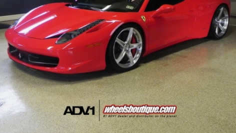 Ferrari 458 on ADV5.1 MV1 SL