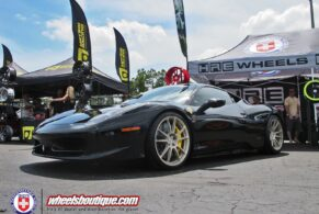 Ferrari 458 Italia on matte HRE P44SC Wheels 20|20
