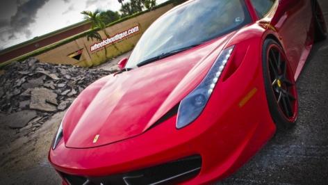Vorsteiner VS-310 Wheels on the Ferrari 458