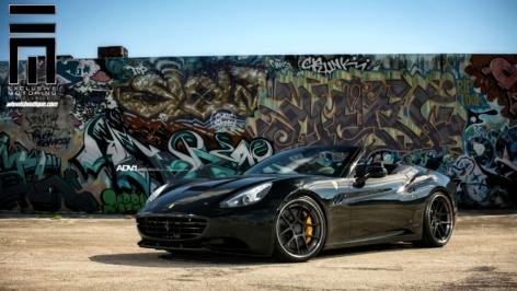 Ferrari California on ADV5.0 Track Spec