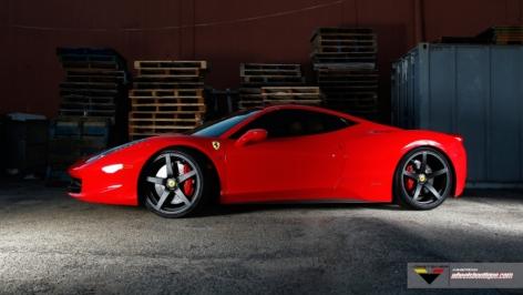 Ferrari 458 Vorsteiner