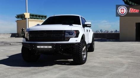 Ford Raptor on HRE TR46