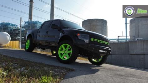 Ford SVT Raptor on HRE TR46