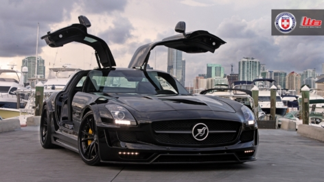 Hamann Hawk SLS AMG on HRE S104