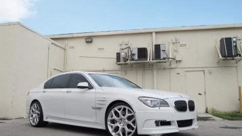 Hamman BMW 7 Series on HRE P90L