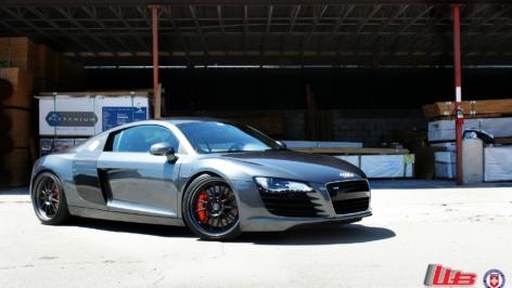 Audi R8 on HRE 563R