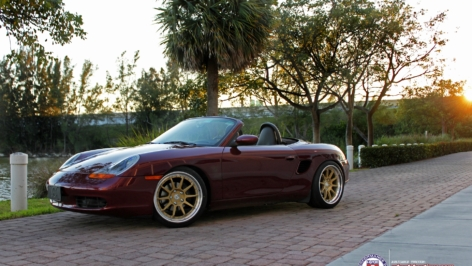 Porsche Boxster on HRE C103's