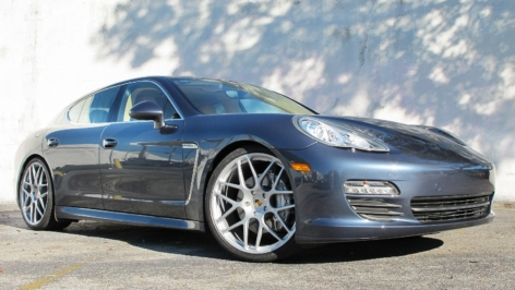 HRE P40L on Yachting Blue Panamera S