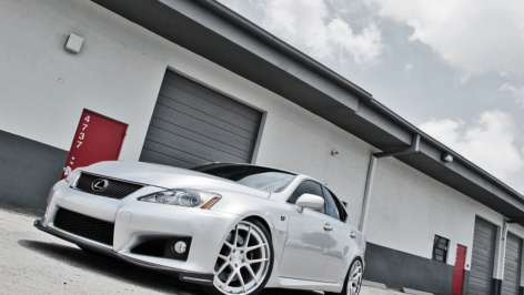 ADV 5.0 Track Specs in Brushed Clear | Lexus IS-F