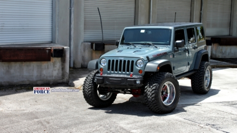 Jeep Wrangler Rubicon 10th Annv. on American Force Wheels