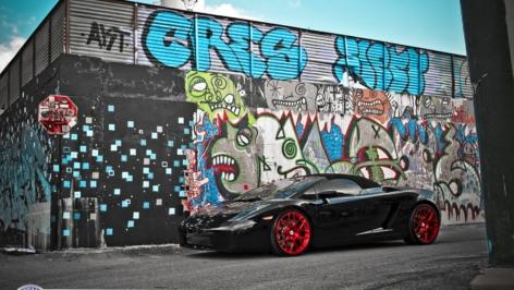 Lamborghini Gallardo on HRE P40SC